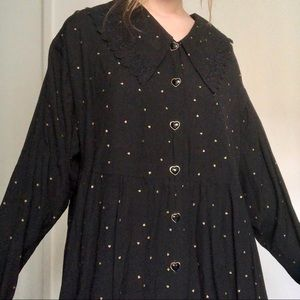 Vintage Witchy Large Collar Blouse